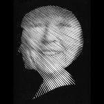 geknipt portret Beatrix